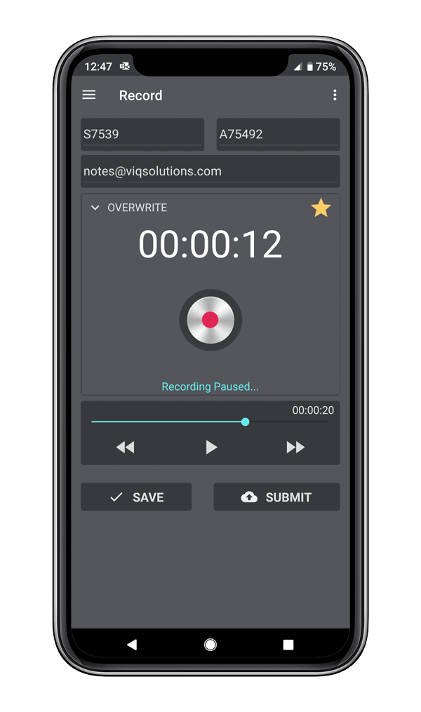 MobileMic Pro Screenshot