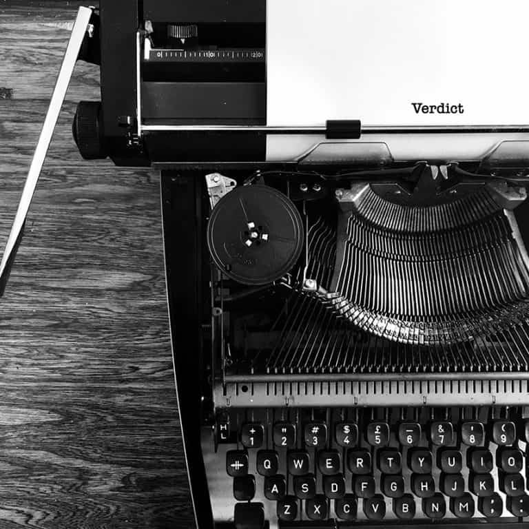 Typewriter Verdict