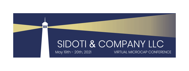 Sidoti Microcap Conference 2021