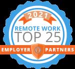 2021 TOP 25 Employer Partners Logo