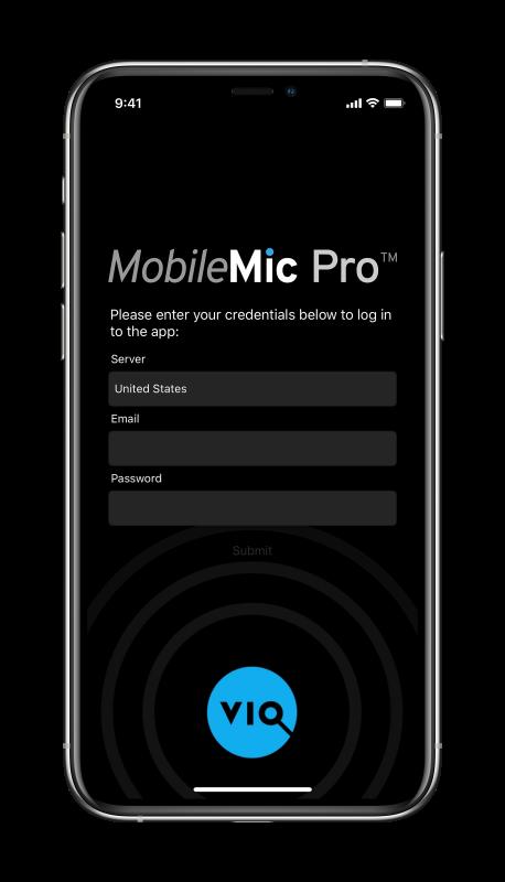 MobileMic Login_phone