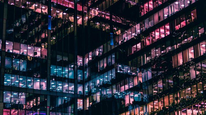 Buildings Night